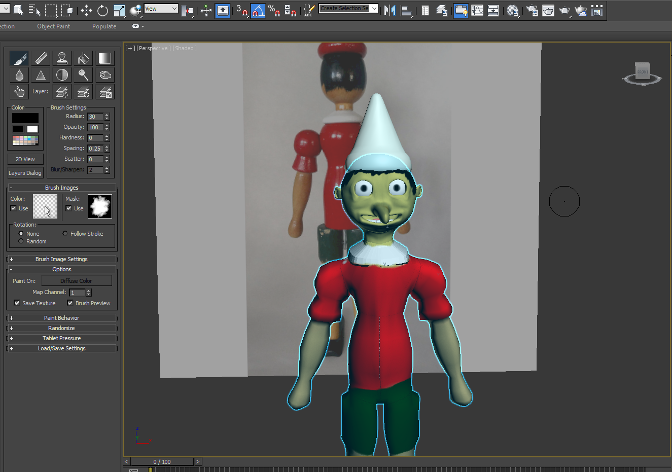 Pinnochio – 3D model from scratch to animated character in Unity 3D